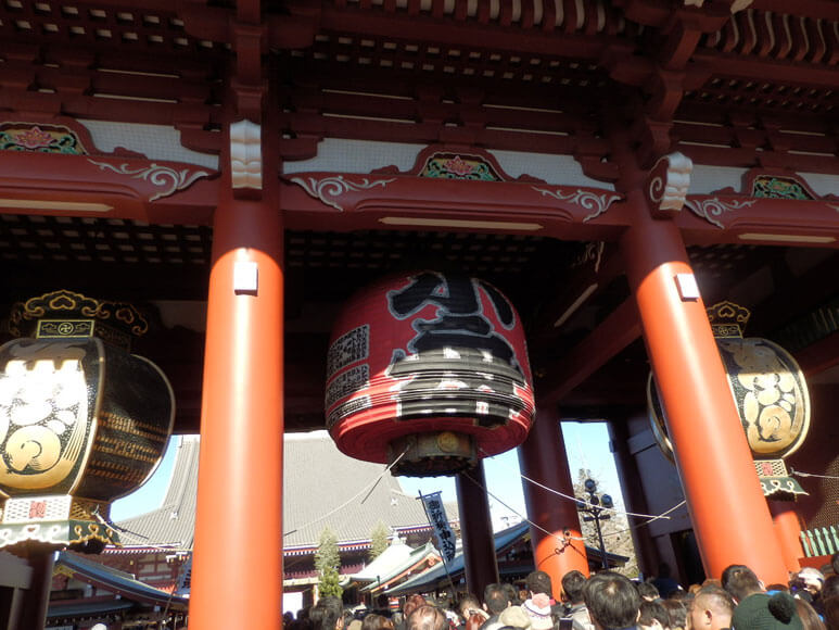 東京都旅行観光浅草寺宝蔵門(仁王門)