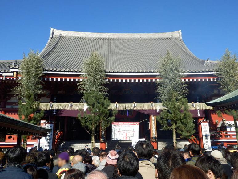 東京都旅行観光浅草寺本殿