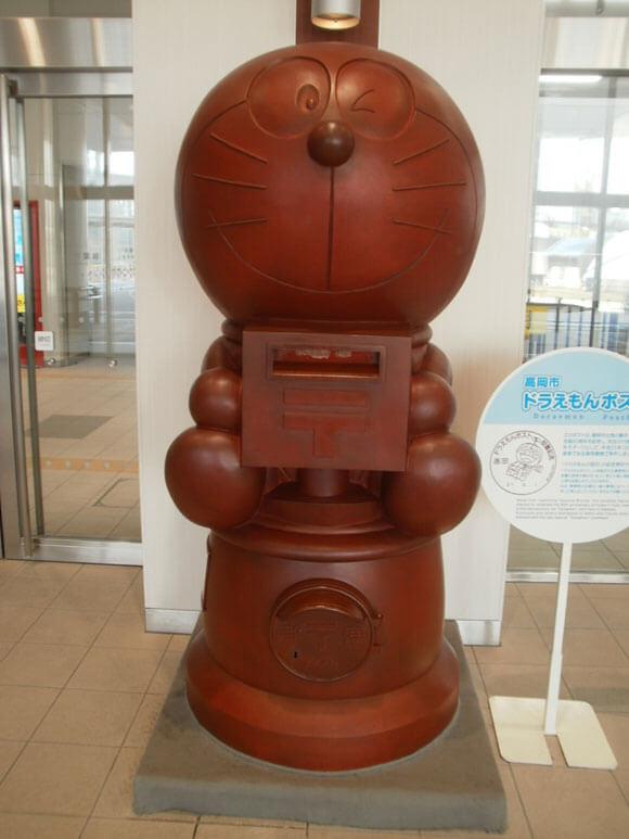 富山県旅行観光高岡ドラえもんの散歩道