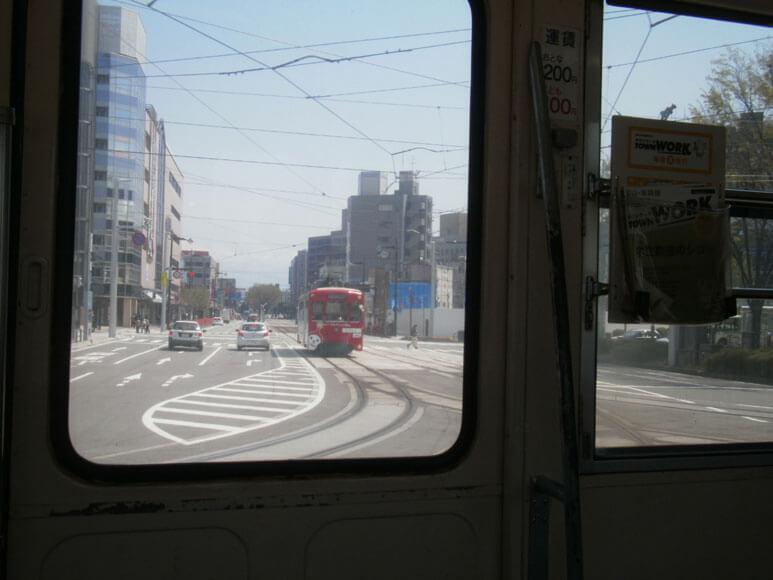 富山県旅行観光路面電車