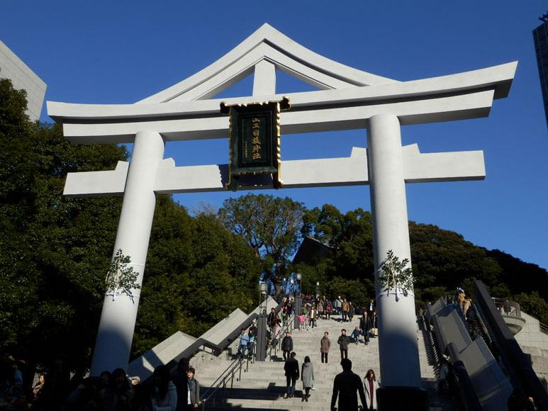 東京都旅行観光東京十社巡り日枝神社