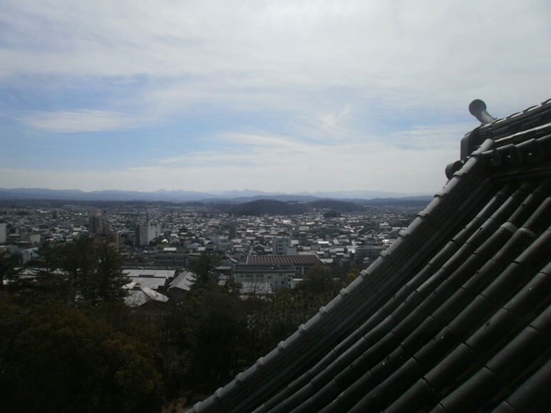 三重県旅行観光伊賀上野城