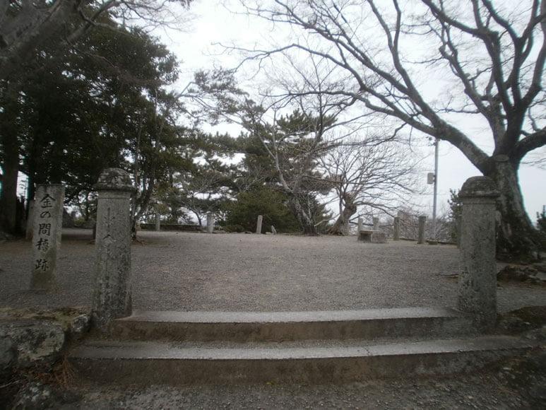 三重県旅行観光松阪市松坂城跡金の間櫓跡