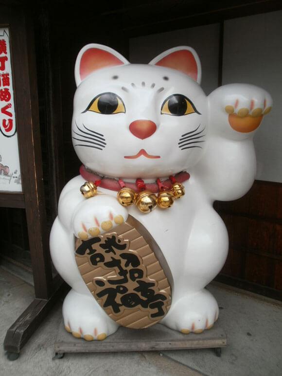 三重県旅行観光おはらい町おかげ横丁招き猫