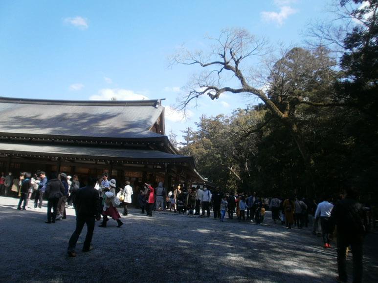三重県旅行観光伊勢神宮内宮