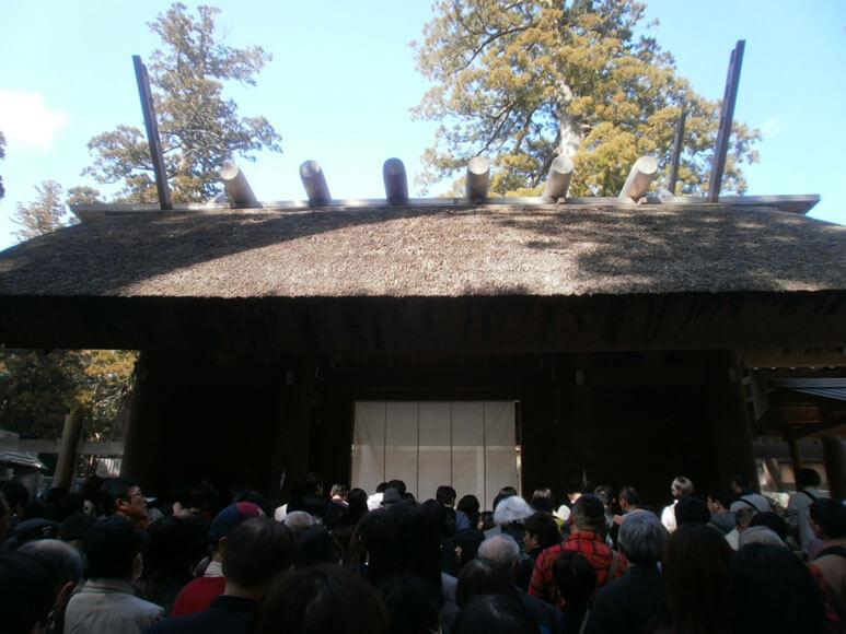三重県旅行観光伊勢神宮内宮皇大神宮