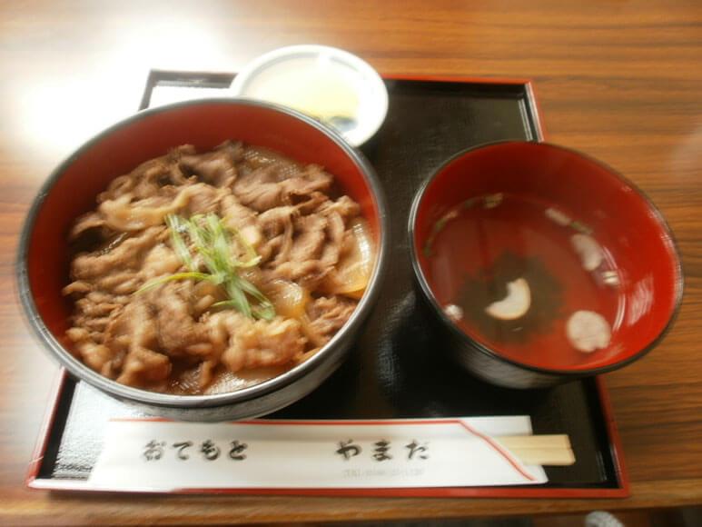 三重県旅行観光おはらい町おかげ横丁松坂牛丼