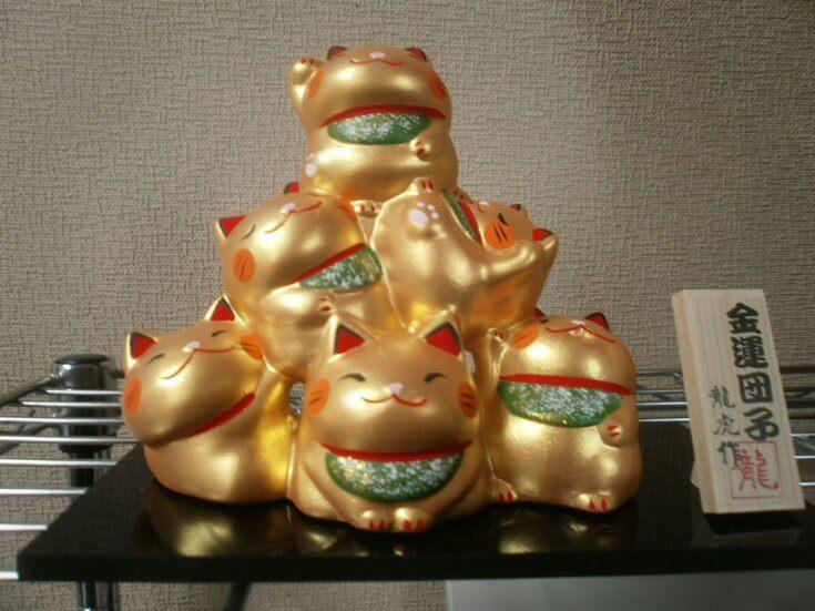 三重県旅行観光お土産三段まねき猫