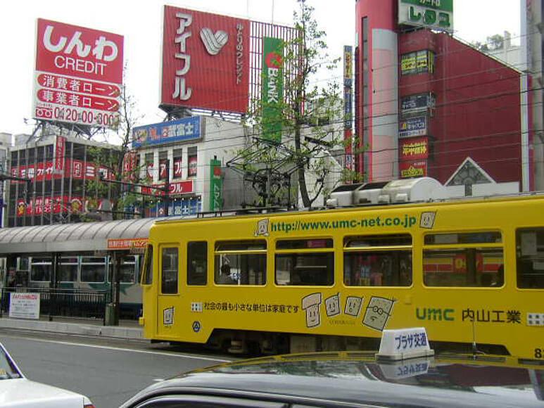 岡山県旅行観光路面電車