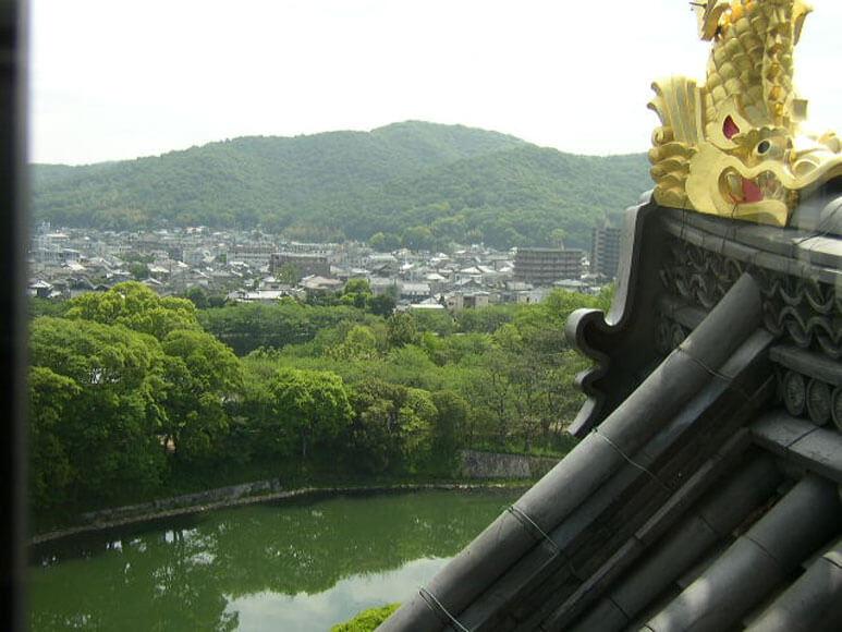 岡山県旅行観光岡山城天守
