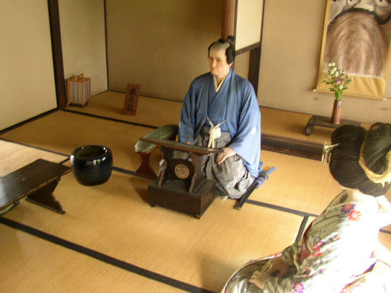 岡山県旅行観光備中高梁旧折井家武家屋敷