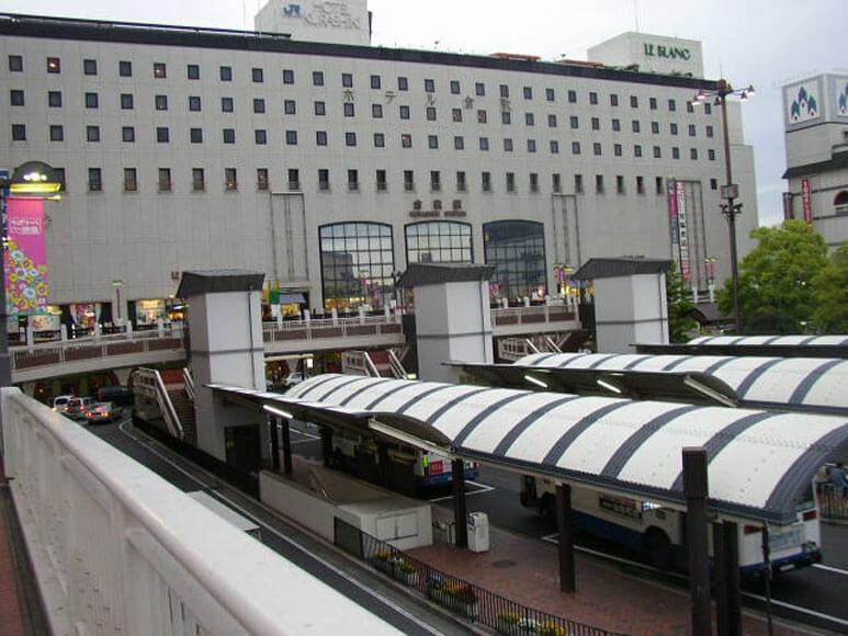 岡山県倉敷駅