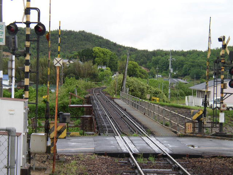 岡山県旅行観光踏切