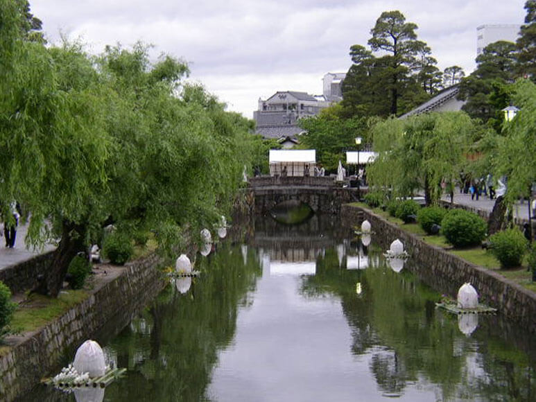 倉敷の美観地区(岡山県2)