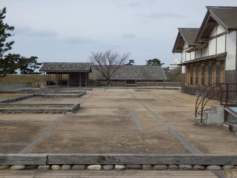 新潟県の旅行観光佐渡島佐渡奉行所跡御陣屋