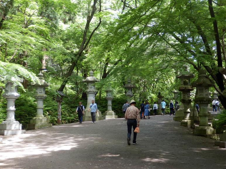 千葉県旅行観光香取神宮の参拝
