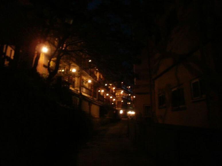 群馬旅行観光伊香保温泉街石段街
