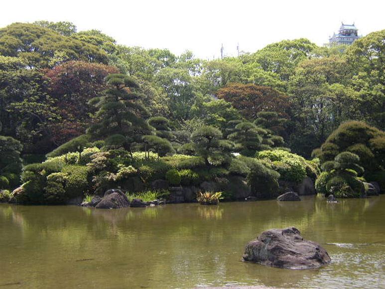 大阪府旅行観光天王寺公園慶沢園