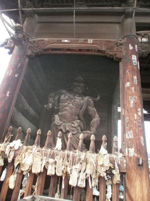 長野県旅行観光善光寺仁王門