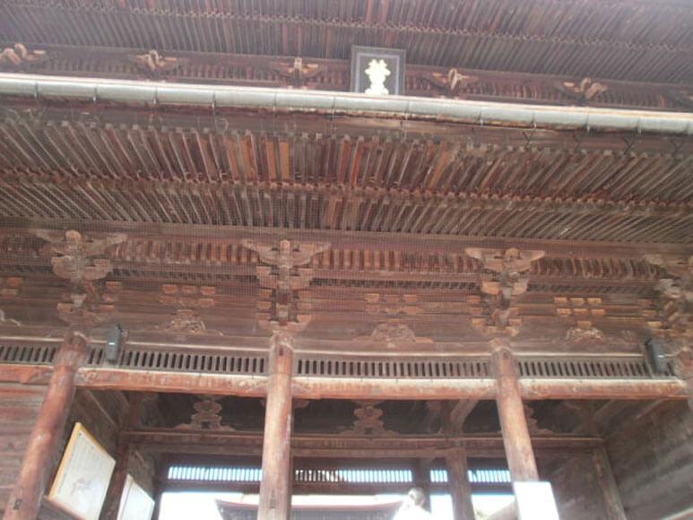長野県旅行観光善光寺山門(三門)