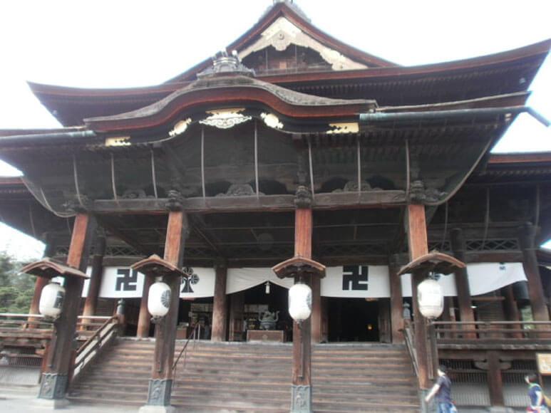 田中本家と善光寺(長野県2)