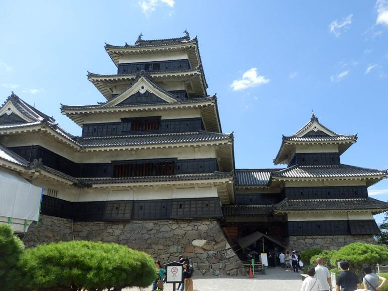 松本城と旧開智学校校舎(長野県3)
